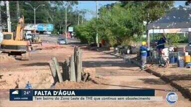Diversos bairros da Zona Leste continuam sem água após obra - Diversos bairros da Zona Leste continuam sem água após obra