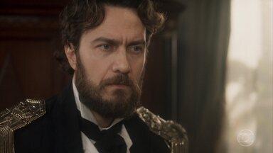 Thomas estranha a frieza de Anna - Anna questiona as intenções do marido ao fazer tanta questão de participar do governo