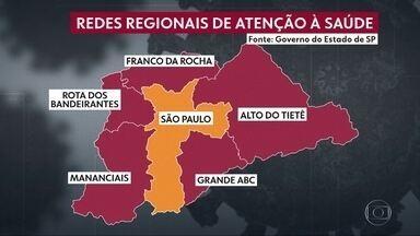 """""""ABC"""" quer mesma flexibilização da capital - A região foi incluída na faixa vermelha, a mais restritiva."""