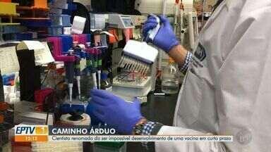 Cientista renomado diz ser impossível desenvolvimento de uma vacina em curto prazo - Veja o motivo da demora para criar uma vacina contra o novo coronavírus.