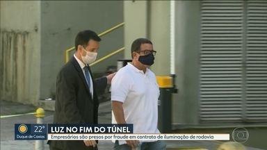 Ex-governador Pezão e empresários são alvos de operação da Polícia Civil - A operação faz de uma investigação de lavagem de dinheiro no Arco Metropolitano.