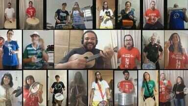 'Em Cena' traz agenda de lives para o fim de semana - Programação inclui apresentações do cantor Dilsinho e da Banda Eva.