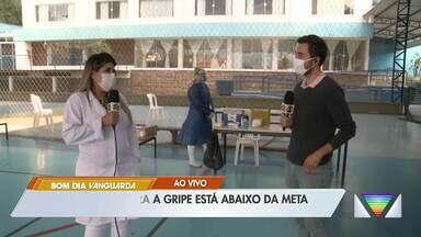 Vacinação contra gripe está abaixo da meta em Caraguatatuba - Campanha segue até 30 de junho.