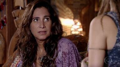 Luana diz a Zambeze que Álvaro está entediado - undefined