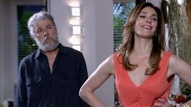 Pereirinha chega para satisfazer os desejos de Tereza Cristina - undefined