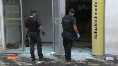 Ladrões tentam roubar duas agências bancárias em SP - Nos dois casos, os bandidos se deram mal.