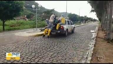 Solidão investe em isolamento mesmo sem registrar casos de Covid-19 - Prefeitura afirma que fez barreiras sanitárias e higienização de ruas.