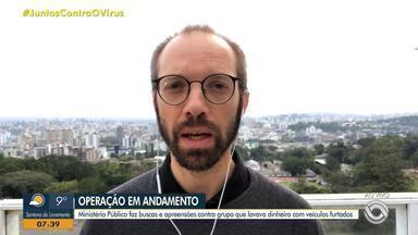 Daniel Scola fala sobre operação do MP contra lavagem de dinheiro na Região Metropolitana - Assista ao vídeo.