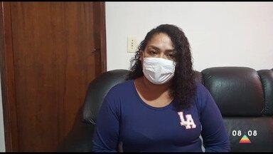 Técnica de enfermagem infectada pelo coronavírus relata período contra doença - Ela ficou internada por quase dez dias.