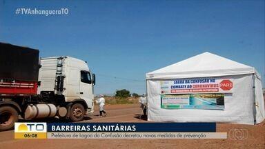 Prefeitura interdita orla e instala barreiras sanitárias nas entradas de Lagoa da Confusão - Prefeitura interdita orla e instala barreiras sanitárias nas entradas de Lagoa da Confusão