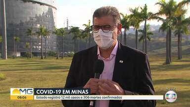 Secretário de Saúde fala sobre o combate ao coronavírus em Minas - De acordo com o último boletim da Secretaria Estadual de Saúde, Minas teve um aumento de mais de mil casos confirmados em 24 horas, ultrapassando os 12 mil infectados no total.