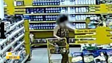 Homem é ferido em assalto no Pirambu e mulher é assaltada em supermercado - Saiba mais em g1.com.br/ce
