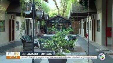 Itatiaia flexibiliza regras para reabertura do setores hoteleiro e gastronômico - Novo decreto passa a valer a partir da próxima sexta-feira (5).