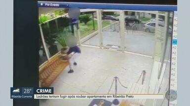 Polícia prende suspeitos de tentar roubar joias em apartamento na zona sul de Ribeirão - Dupla entrou com documentos falsos em prédio e foi até imóvel de morador que estava viajando.