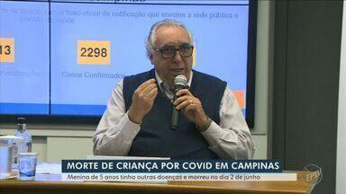 Coronavírus: Campinas confirma primeira morte de criança; veja atualizações da região - Menina de 5 anos tinha comorbidades e morreu na terça-feira (2) em um hospital privado.