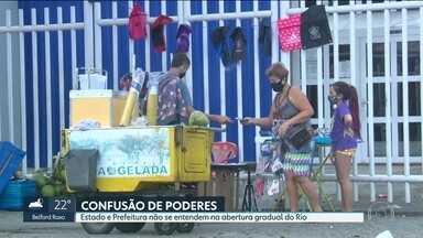 Abertura gradual do Rio preocupa especialistas - Estado e prefeitura não se entendem e medidas deixam cariocas confusos.