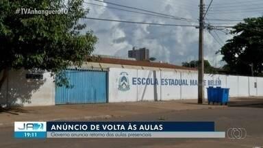 Governo do Tocantins anuncia retorno das aulas presenciais para agosto; entenda - Governo do Tocantins anuncia retorno das aulas presenciais para agosto; entenda