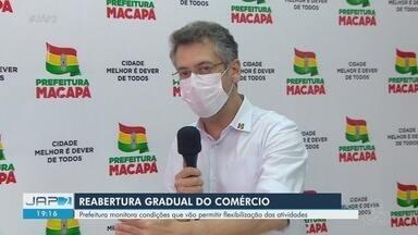 Prefeito de Macapá fala sobre medidas para reabertura do comércio - Prefeito de Macapá fala sobre medidas para reabertura do comércio