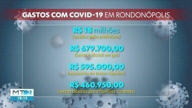TCE aponta que prefeitura de Rondonópolis gastou mais que a de Cuiabá em ações de combate - TCE aponta que prefeitura de Rondonópolis gastou mais que a de Cuiabá em ações de combate à pandemia