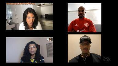Atletas negros falam de casos de racismo que já sofreram - Jogadores se manifestaram contra a morte de um homem negro por um policial branco nos Estados Unidos.