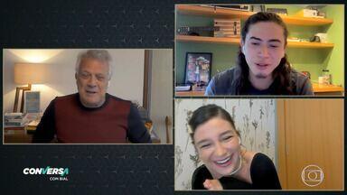 Programa de 05/06/2020 - Pedro Bial conversa com Priscilla Alcantara e Whinderson Nunes.