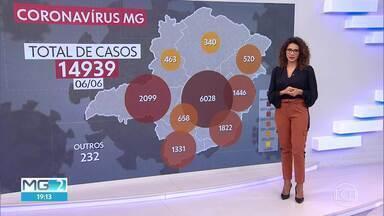 Minas registra novo recorde de mortos pela Covid-19 - Foram 24 mortes de ontem para hoje