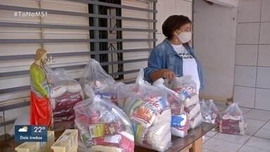 Associação socorre moradores da região Sul com doações na pandemia - Ação de solidariedade mostra força da comunidade.