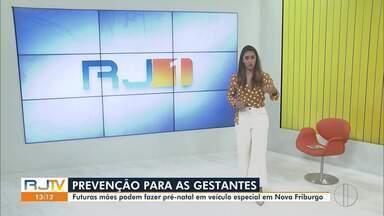 Veja a íntegra do RJ1 desta quarta-feira, 13/05/2020 - O jornal da hora do almoço traz informações sobre as regiões dos Lagos, Serrana, Norte e Noroeste Fluminense.