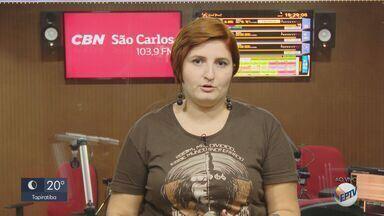 Prefeitura de São Carlos assina acordo para liberação de verba para recapeamento - Veja as informações com a jornalista da CBN Marina Lacerda.