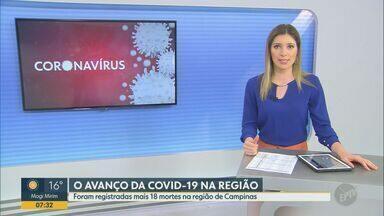 Covid-19: lar de idosos em Americana confirma 7º caso; veja dados da região - Moradora infectada é uma idosa de 88 anos, que está em isolamento domiciliar. Local registra quatro mortes pela doença.
