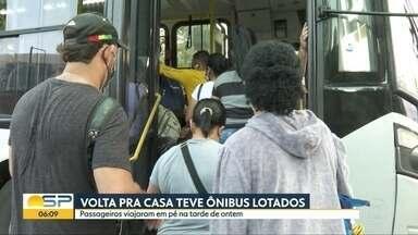 Bom Dia São Paulo - Edição de terça-feira, 09/06/2020 - Covas diz que secretário de transporte tem até sexta para garantir que ônibus em SP circulem apenas com passageiros sentados.Flexibilizações em condomínios devem ser feitas por síndicos e conselhos