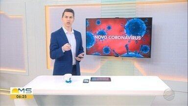 Mato Grosso do Sul já tem 2.324 casos de covid-19 - Mato Grosso do Sul já tem 2.324 casos de covid-19