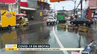 Veja como está a situação nos bairros de Salvador com maior número de casos de Covid-19 - A doença está se alastrando por bairros populosos, como Brotas e Liberdade.
