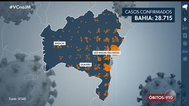 Bahia tem mais de 28 mil casos de Covid-19 e transporte é suspenso em mais 18 cidades - Confira as principais informações sobre a pandemia em todo o estado.