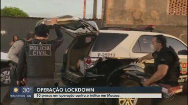 Operação da Polícia Civil contra o tráfico de drogas prende suspeitos em Mococa - Operação Lockdown cumpriu 14 mandados de busca e apreensão nesta terça-feira (9).