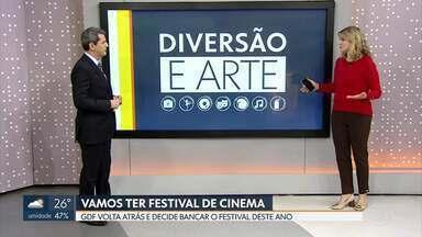 Teremos Festival de Cinema em 2020! - Depois de anunciar o cancelamento da 53a Edição do Festival de Brasília do Cinema Brasileiro por falta de dinheiro, a Secretaria de Cultura volta atrás e diz que o governador decidiu bancar o evento.