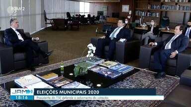 Presidente do TSE defende adiamento da eleição 2020 - Presidente do TSE defende adiamento da eleição 2020