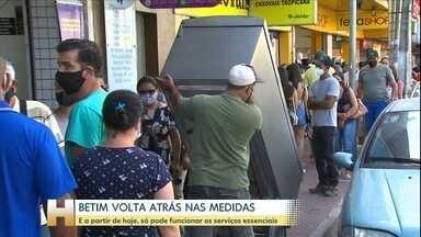 Comércio de Belo Horizonte permanecerá aberto - O Tribunal de Justiça de Minas rejeitou o pedido do Ministério Público para fechar parte do comércio em Belo Horizonte.
