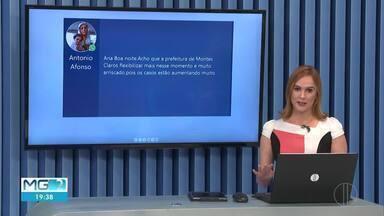 Veja as mensagens enviadas pelo telespectadores no MG2 - Mensagens podem ser enviadas pelo (38)98834-3348.