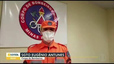 Jovem desaparece ao tentar ajudar irmãos no Rio São Francisco, em Januária - Bombeiros fizeram buscas no local.