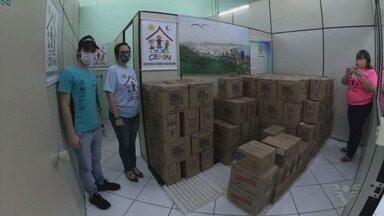 Lélio Assumpção arrecada quase duas toneladas de alimentos e entrega ao Cenin - undefined