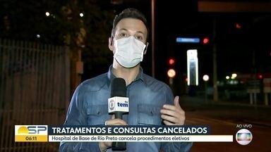 Hospital de Base cancela tratamentos eletivos - A ideia é ter mais espaço para cuidar de pacientes com coronavírus.