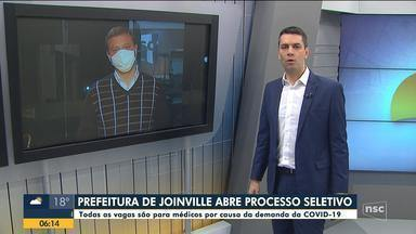 Prefeitura de Joinville abre processos seletivos para a contratação de médicos - Prefeitura de Joinville abre processos seletivos para a contratação de médicos