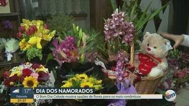 Dia dos namorados: confira opções de flores para presentear - Há opções para todos os gostos e preços.