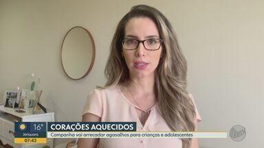 Campanha 'Movimento Causa' arrecada agasalhos para jovens e crianças em Ribeirão Preto, SP - Quem deseja realizar doações pode entrar em contato (16) 99779-1775.