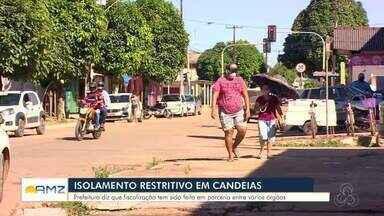Confira como está Candeias do Jamari durante o isolamento restritivo - O repórter Jefferson Carvalho traz mais informações.
