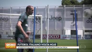 GE no DF1: futebol italiano volta nesta sexta com Juventus x Milan, pela Copa da Itália - GE no DF1: futebol italiano volta nesta sexta com Juventus x Milan, pela Copa da Itália