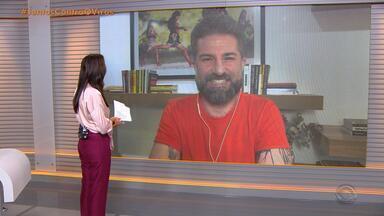 Paulo Germano comenta sobre o amor e relacionamentos neste Dia dos Namorados - Assista ao vídeo.