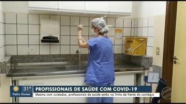 Mesmo com cuidados redobrados, profissionais de saúde estão expostos à COVID-19 - Em Mato Grosso do Sul foram realizados mais de 1.700 testes em profissionais da linha de frente