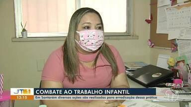 Ações têm sido realizadas em Santarém para erradicar o trabalho infantil - Campanha está sendo realizada virtualmente.